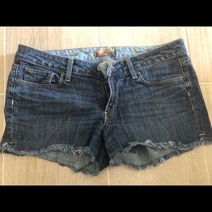 Paige denim cutoff shorts 30
